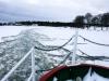 Februari 2013 - Hård is på väg in till Svartö